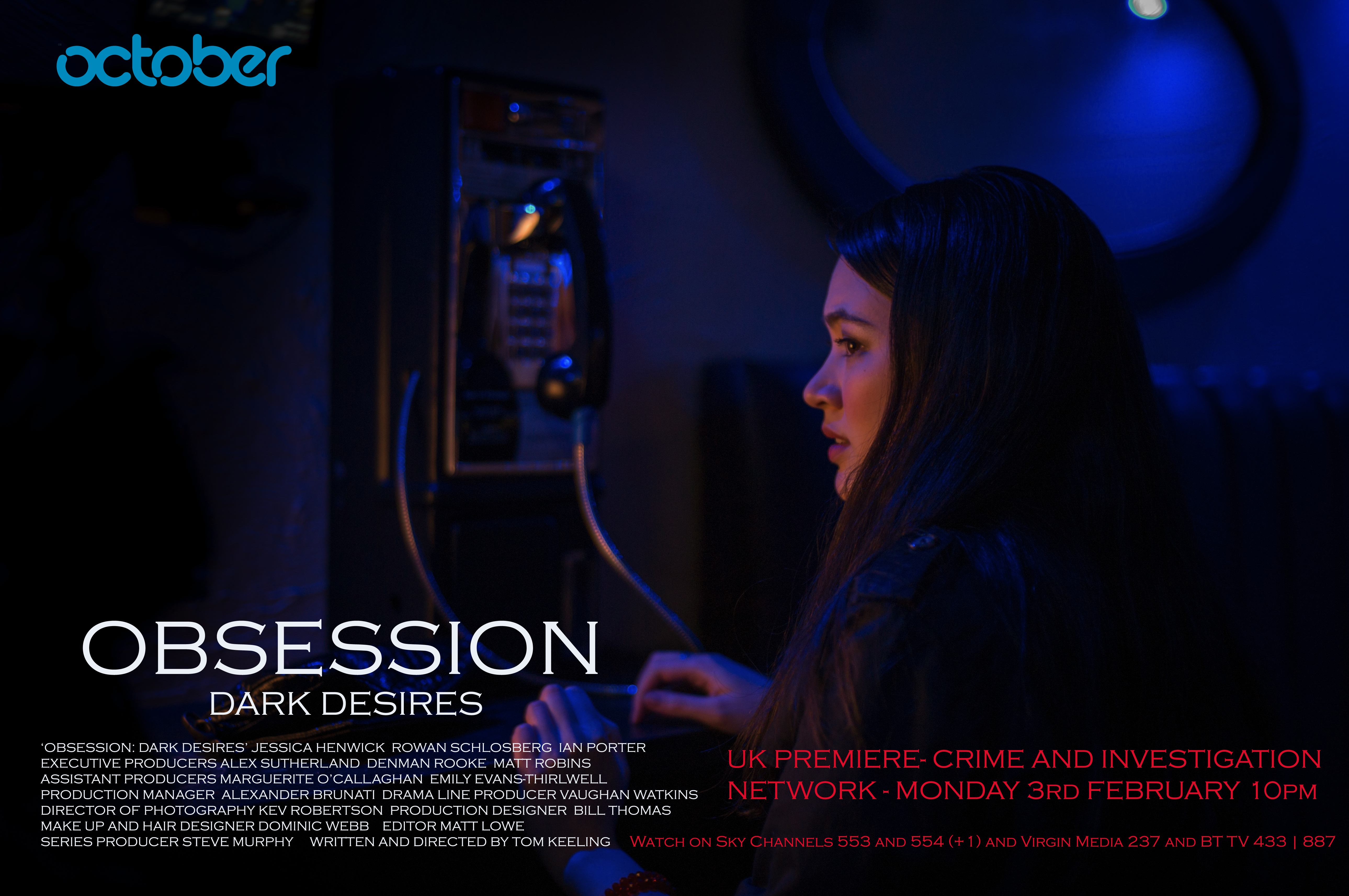 Obsession ep 1 UK TX card